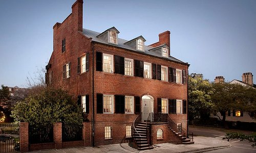 Davenport House Museum. The only museum property owned by Historic Savannah Foundation.