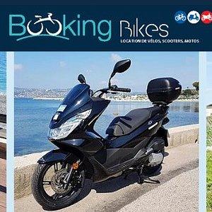Booking Bikes  Location Vélos, scooters, motos Villeneuve Loubet