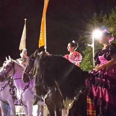 Feria Andalucia au chateau d'Oupeye