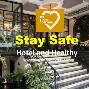Stay Safe - Hotel and Healthy