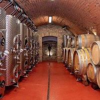 Výrobní sklep vinařstí Orisek
