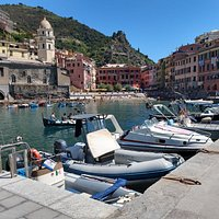 Porto di Vernazza (or Vernazza Harbour) is the tiny old harbour of the town, located in Cinque Terre National Park.