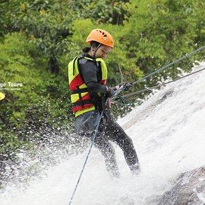 Dalat waterfall Challenge