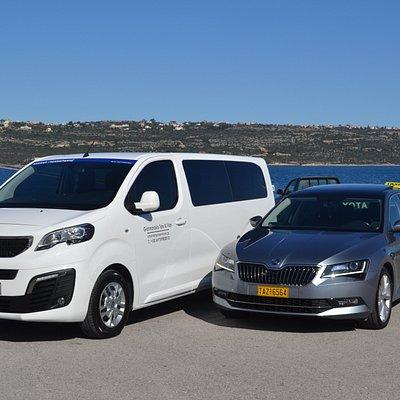 taxi & minivan transfers and tours in Crete