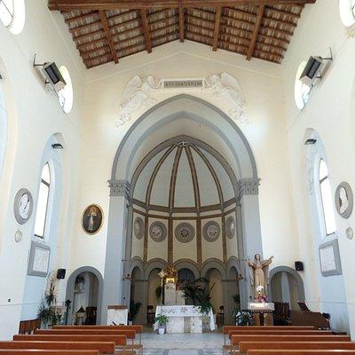Parrocchia di Santa Maria Assunta is a church located in the main promenade of Marina di Pisa, not so far from Pisa.