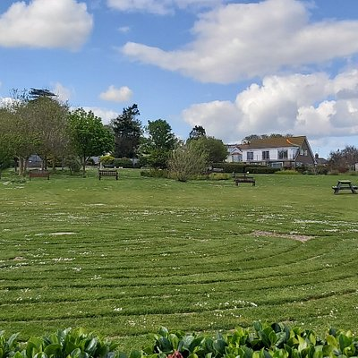 View of Seaton Labyrinth