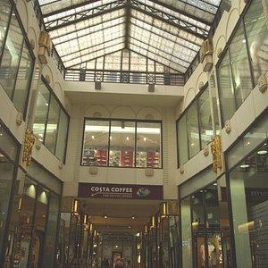 La Galleria con il lucernario