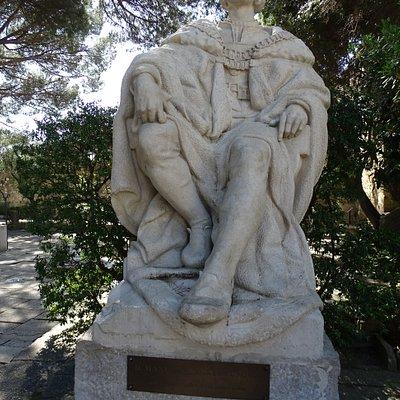 Escultura Dom Manuel I