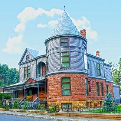 The Historic Adams House, Deadwood, SD.