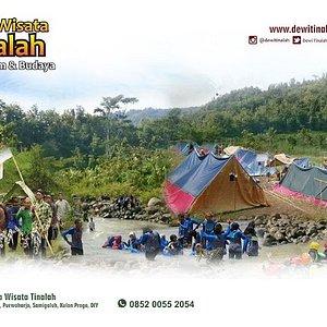 Ragam atraksi desa wisata Tinalah, atraksi kerajinan bahan alam, workshop kuliner, camping, outbound, atraksi budaya, makrab, gathering, live in, homestay.