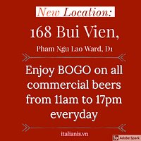 New Location at 168 Bui Vien, D1