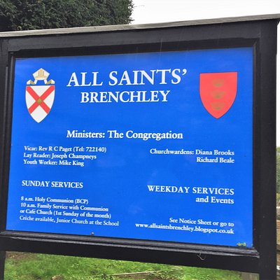 1.  Commonwealth War Graves, All Saints' Church, Brenchley, Kent