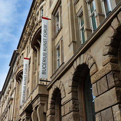 Das Bucerius Kunst Forum im Herzen Hamburgs am Alten Wall 12.