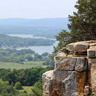 Lake Wisconsin as seen from Gibraltar Rock