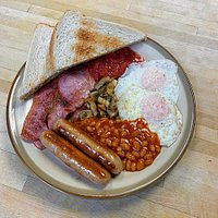 Buttery Full English