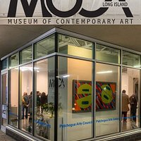 Museum of Contemporary Art Long Island is located in Patchogue Village in the Artspace Building on Terry Street. It is the exhibition space of the Patchogue Arts Council.
