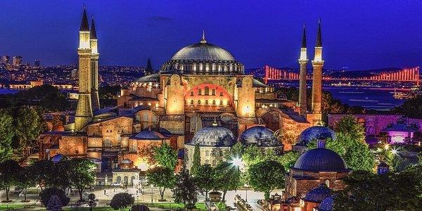 Hagia Sophia Museum by Cem Akat.
