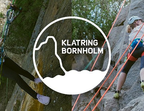 Experience guided rappelling and climbing on Bornholm