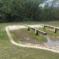 Kayak/paddleboard wash area
