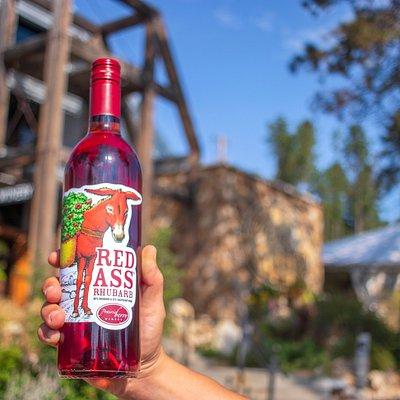 Prairie Berry Winery Red Ass Rhubarb