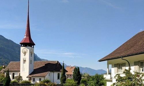 Chapelle/église de Seedorf (Uri) - vue extérieure