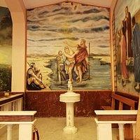 San Giovanni Battista e il battesimo di Gesù.