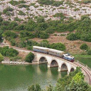 Trenino al lago di San Sebastiano, linea Mandas-Laconi (Mario Dessi)