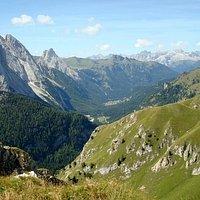 Versante Sud: Val di Fassa, Catinaccio-Rosengarten