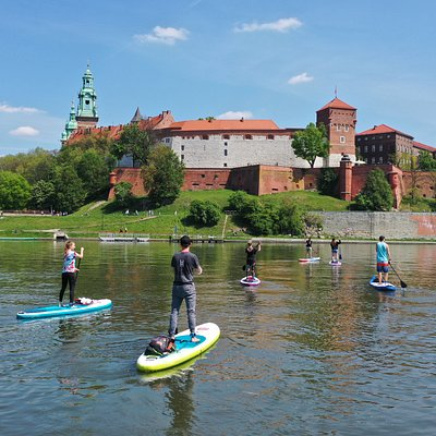 SUP session in the heart of the Cracow :)