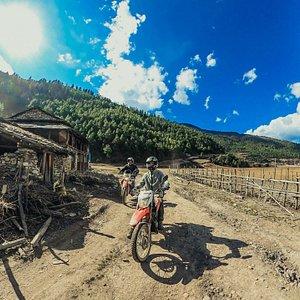 Motorcycle tour to Dhorpatan, Nepal
