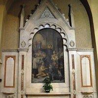 Altare laterale dedicato a San Giovanni Bosco