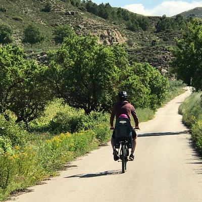 Camino al Ebro, bicis con niños en La Rioja