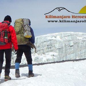 Kilimanjaro Summit Glacier