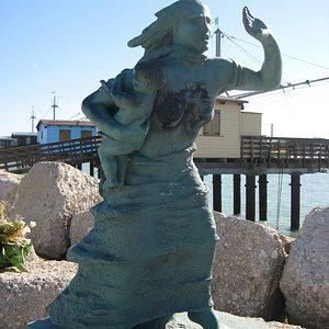 """Fano """"Tempesta"""" - Monumento ai caduti del mare"""