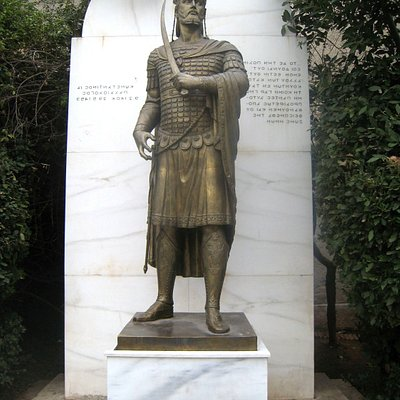 Died in 1453 at the Battle of Constantinople