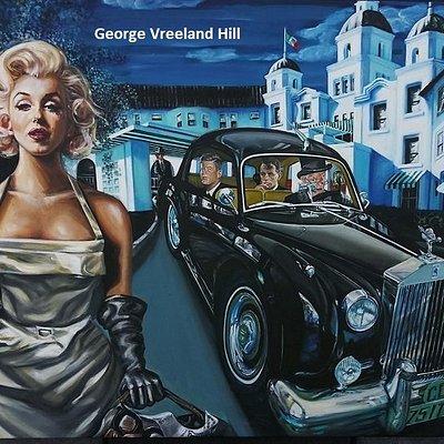 Beverly Hills artSHOW.  Photo by,  George Vreeland Hill