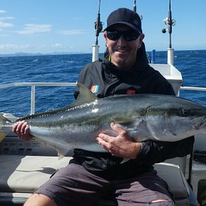 This solid kingfish provided a huge battle after eating a livebait