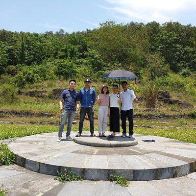 Visiting Dan te Nam Giao with my friends!