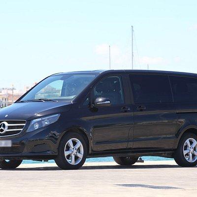 Minivan with driver ibiza