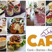 Wir bieten Ihnen vom Frühstück bis zum Abendessen alles an.
