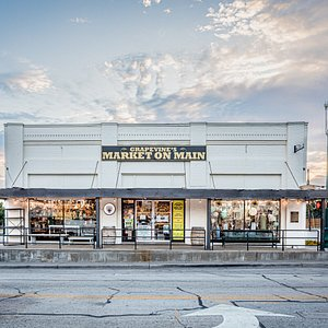 """The current owner, David Wood, is the 4th generation in his family to own this historic building. We are proud of our hometown roots in old town Grapevine and strive to offer local Texas gifts and homemade products. You could say this store is """"Where Texans Shop!"""""""