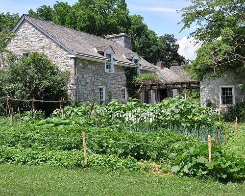 The tavern garden at Landis Valley Museum