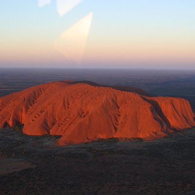 The mighty Uluru!