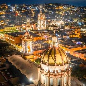 Hermosa noche en San Miguel de Allende ❤️