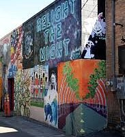 Local artists gather each summer to showcase their work.