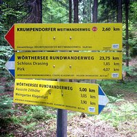 Wörthersee-Rundwanderweg - Unterwegs nach Pirk