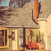 This is what our local art gallery and gift shop looks like...so you can miss us! 3 Mill Street, Milton, ON L9T 1R7