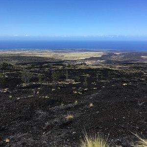 Route 190 entre Pu'u Wa'awa'a Forest Reserve et Kailua-Kona