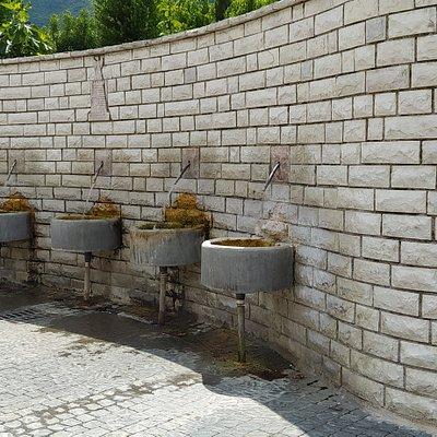 Fontanelle esterne in cui si può prendere acqua gratuitamente!