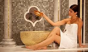 moment de détente spa ,massage,hammam ,relaxation,bien être,gommage thé a la menthe,enveloppement